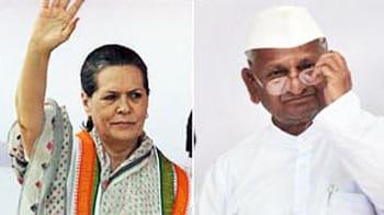 Video : Anna writes to Sonia about Sibal, Digvijaya