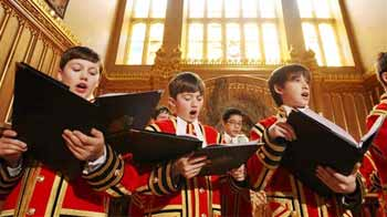 Video : These boys will sing at the royal wedding