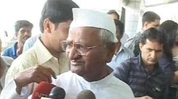 Video : Anna Hazare: People's trust not dented