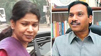 Video : 2G scam: Kanimozhi accused of conspiracy, due in court on May 6