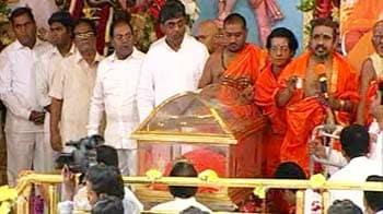 Video : Sathya Sai Baba's last rites in Puttaparthi