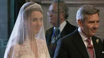 Video : Kate's walk down the aisle