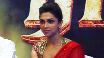 Video : Deepika shoots with Rajini, feels elated