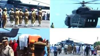 Video : Arunachal Chief Minister Khandu's body brought to Itanagar