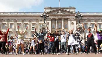 Video : Another celebration at Buckingham palace