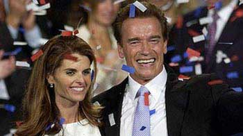 Video : Schwarzenegger & Shriver announce separation