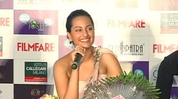 Video : Sonakshi: Up close and personal