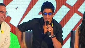 Video : Tried to hit Gayle, but he was too tall: Shahrukh