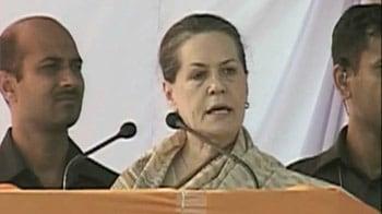 Video : After Rahul, Sonia takes on Mayawati