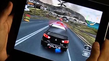 Video : iPad game review: NFS Hot Pursuit