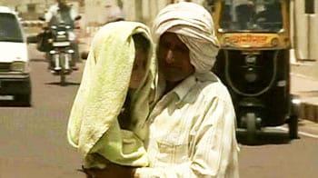 Video : Churu sizzles at 48 degrees as mercury soars in Rajasthan