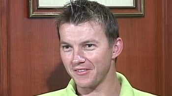 Brett Lee takes NDTV