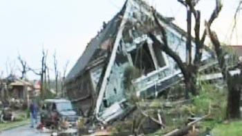Video : US tornado caught on camera