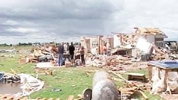 Video : US tornado devastation caught on camera