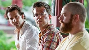 Video : Two stars for Hangover 2