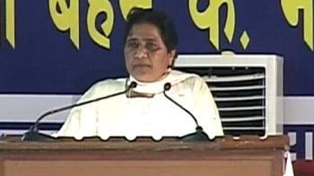 Video : Farmers' protests: Mayawati slams Rahul