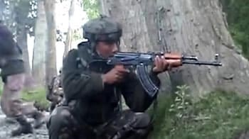 Video : Three militants gunned down by security forces in Sopore