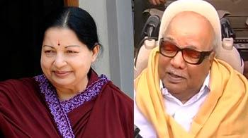 Video : Jayalalithaa stops Karunanidhi's projects