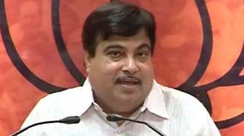 Video : PM, Sonia should apologise: Nitin Gadkari
