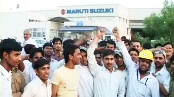 Video : Maruti sacks 11 striking workers; stalemate continues