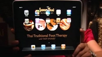 Video : iPad for a menu card! Restaurants usher in new technology