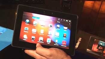 Video : First impressions: BlackBerry PlayBook