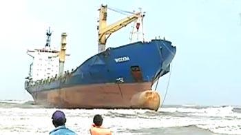 Video : MV Wisdom salvage operation put off for 15 days