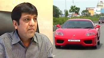 Surat: This man bought Sachin's red Ferrari