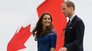 Video : Will and Kate charm Canada