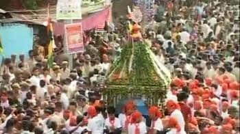 Videos : भगवान जगन्नाथ की रथ यात्रा शुरू
