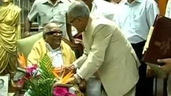 Video : Congress-DMK alliance intact, says Pranab Mukherjee