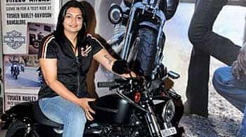 Video : Meet the first woman to buy a Harley-Davidson in India