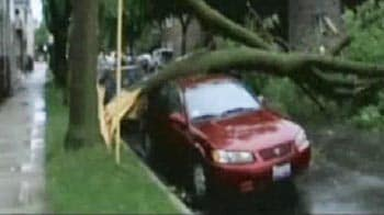 Video : What winds at 120 km per hour can destroy