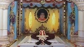 Video : Sai Baba's mahasamadhi unveiled in Puttaparthi