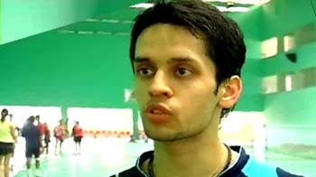 Video : Even asthma couldn't stop shuttler P Kashyap