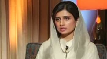 Video : Pak Foreign Minister Hina Rabbani Khar speaks to NDTV