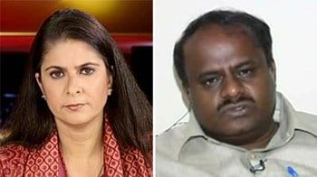 Video : Illegal mining report: Kumaraswamy attacks Yeddyurappa, defends himself