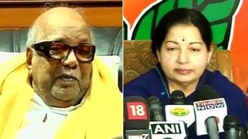 Video : Karunanidhi vs Jayalalithaa: War over arrests