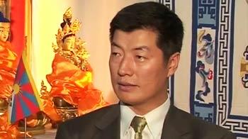 Video : We believe in ahimsa: New Tibet PM