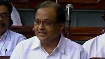 Video : Chidambaram justifies the imposition of Sec 144