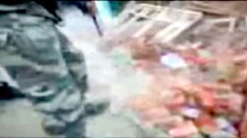 Video : Caught on Camera : Army killed trapped militant