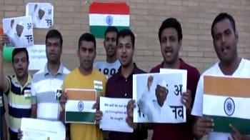 Video : Minneapolis roots for Anna Hazare