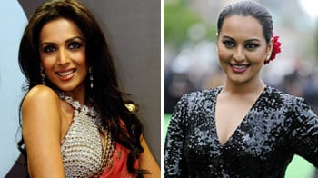 Video : Malaika covers it up, Sonakshi's weight issues