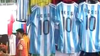 Video : Messi sells, on T-shirts