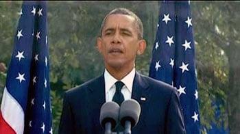 Video : Obama, Bush push for unity on 9/11 anniversary