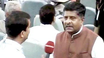 Video : In BJP, we don't have a crown prince: Ravi Shankar Prasad