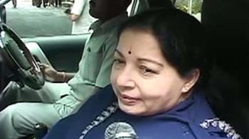 Video : Jayalalithaa: Sent MPs for Modi's fast as goodwill gesture