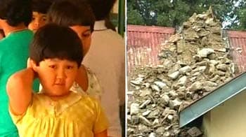 Video : Sikkim quake: Schools jolted, classrooms become bedrooms