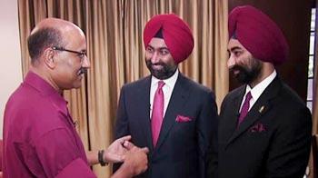Video : Walk the Talk with Malvinder, Shivinder Singh