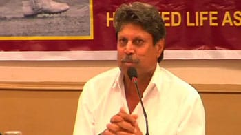 Video : Would love to bowl to Sehwag: Kapil Dev